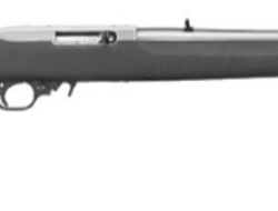 Ruger 10-22 Stainless Hogue Semi-Auto. 22 Rifles