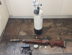 Daystate Mk3 full kit with filling bottle. 22 Air Rifles