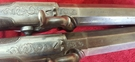 Pair of percussion  travelling pistols fitted with spring bayonets by G & J DEANE LONDON. Ref 9405   Muzzleloader for sale in United Kingdom