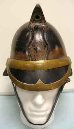British Leather Merryweather Firemans Helmet British Leather Merryweather Firemans Helmet Accessories
