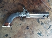 British Percussion belt pistol .5  Muzzleloader