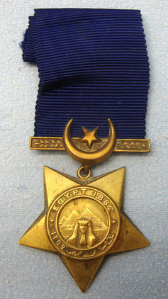 Khedive's Star To Sergeant E. Jones 1st Battalion Seaforth Highlanders. Egyptian Khedive's Star To Sergeant E. Jones 1st Battalion Seaforth Highlanders. Accessories