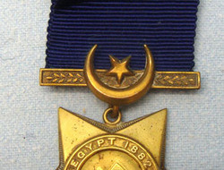 Khedive's Star To Sergeant E. Jones 1st Battalion Seaforth Highlanders. Egyptian Khedive's Star To Sergeant E. Jones 1st Battalion Seaforth Highlanders.