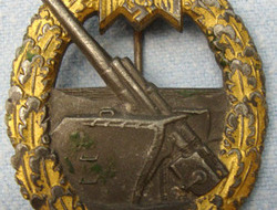 German Coastal Artillery Flak Badge German Coastal Artillery Flak Badge
