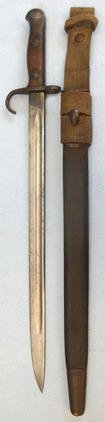 1907 Pattern Sword Bayonet With Hook Quillon By Enfield, Regimentally Marked to  1907 Pattern Sword Bayonet With Hook Quillon By Enfield, Regimentally Marked to  Blades