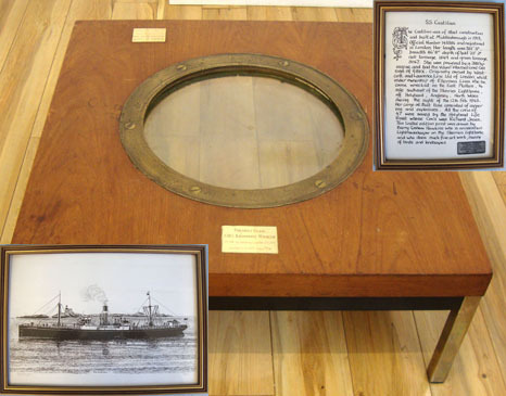 SS Catilian Porthole Rim Recovered From Scapa Flow With Porthole Glass From SMS  SS Catilian Porthole Rim Recovered From Scapa Flow With Porthole Glass From SMS  Accessories
