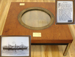 SS Catilian Porthole Rim Recovered From Scapa Flow With Porthole ...
