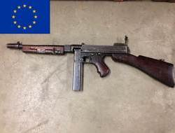New EU Spec Thompson 1928 A1. 45 Submachine Guns