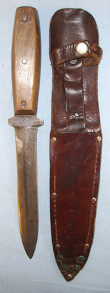 Case Cutlery Co U.S. Fighting/ Trench Combat Knife By Case Cutlery Co & Leather   Blades