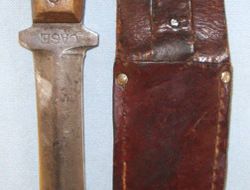Case Cutlery Co U.S. Fighting/ Trench Combat Knife By Case Cutlery Co & Leather   Knives