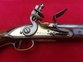 A rare British Military style Flintlock Pistol by TRULOCK. C1780-1815. Good condition. Ref 1008.   Muzzleloader