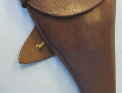 British Sam Browne Holster By T THOMASSON For Webley & Enfield MK...