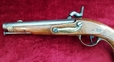 An unusual 19th century continental Percussion military pistol, Circa 1840. Good condition. Possibly Danish ? Ref 9803.   Muzzleloader for sale in United Kingdom