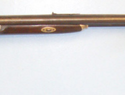 "N. Delany Pennsylvania Double Barrelled .44"" Patched Ball Calibre Kentucky Plains Rifle By N. Delany Pe Muzzleloader .44"
