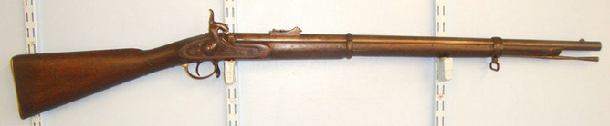 Windsor. U.S.A. One Of 16,000 British Crimean War Era 1856 Windsor USA Contract Pattern 1853 Enf Rifles