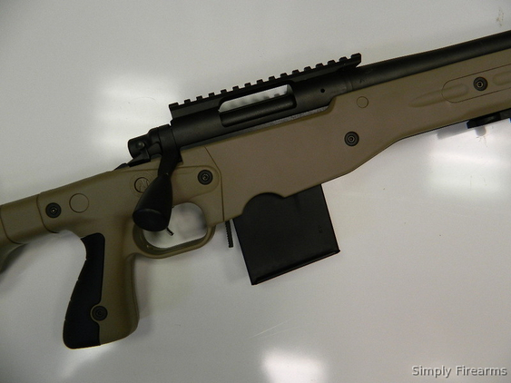 Accuracy International AT (Accuracy Tactical) Stock Remington Tactical+Rail+Hard Case Rifles