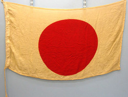 Original WW2 Japanese Battle Flag / Ensign Of The Empire of Japan. Sn 12624 Original WW2 Japanese Battle Flag / Ensign Of The Empire of Japan. Sn 12624