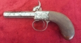 English Antique single barrelled Percussion pistol  by Williams of Liverpool. Ref 9548   Muzzleloader for sale in United Kingdom