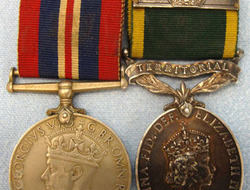 Medal Pair to Trooper J. H. Vent, Royal Tanks. Medal Pair to Troo...