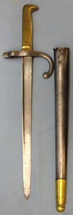 Chilean M1910 Police Sidearm Converted From French Gras 1874 Bayonet and Steel S Chilean M1910 Police Sidearm Converted From French Gras 1874 Bayonet and Steel S Blades