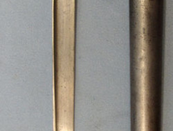 Chilean M1910 Police Sidearm Converted From French Gras 1874 Bayonet and Steel S Chilean M1910 Police Sidearm Converted From French Gras 1874 Bayonet and Steel S Other Blades