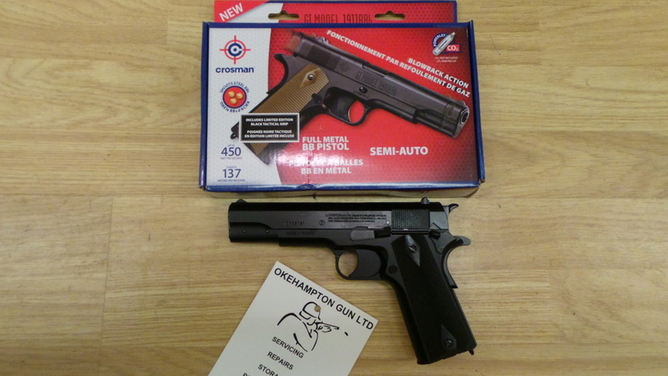 Crosman 1911 - STYLE  Air Guns