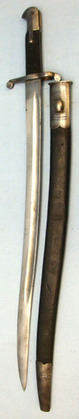 British 1858 Pattern Yataghan Sword Bayonet For 1858 Pattern Short Rifles And Le  Blades