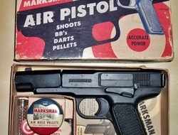 morton h harris marksman. 177 Air Pistols