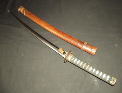 17th Century Shinto Japanese Katana Sword and Scabbard Swords