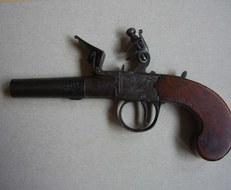 Ball , London  Flintlock Pistol   Muzzleloader
