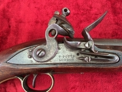 British Military Flintlock Cavalry Officer's Pistol made by    Muzzleloader