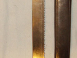 Mole & Sons Makers, Birmingham 1856 Pattern WD Pioneers Brass Hilt Saw Back Short Sword Sidearm By Mole Birming Other Blades