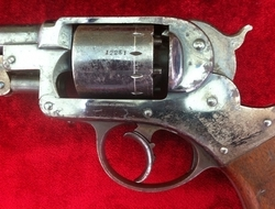 American double action Percussion Revolver made by The Starr Arms...