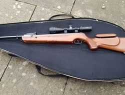 Walther Competition ultra. 177 Air Rifles