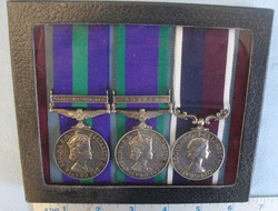 Court Mounted, Group Of 3 X British Medals to X4022596 Cpl M. C. ...