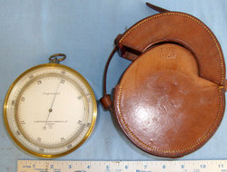 T.A. Reynolds, Son & Wardale Ltd, London Military Barometer / Altimeter By Reynolds, Son & Wardale London With Original W