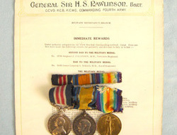 WW1 Military Medal Trio To Private 58734 J.S. Brown Machine Gun Corps With Ribbo WW1 Military Medal Trio To Private 58734 J.S. Brown Machine Gun Corps With Ribbo