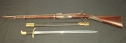 1855 Pattern Lancaster's Percussion Rifle and Bayonet  Muzzel Loader  .577 Rifles for sale in United Kingdom
