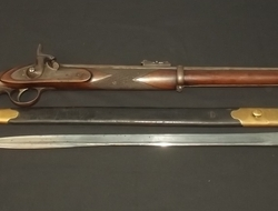 1855 Pattern Lancaster's Percussion Rifle and Bayonet  Muzzleloader  .577 Rifles