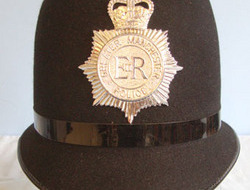 Greater Manchester Police (GMP) Male Constable's/ Sergeant's Blue Serge Helmet B Greater Manchester Police (GMP) Male Constable's/ Sergeant's Blue Serge Helmet B