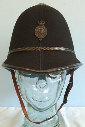 Royal Ulster Constabulary Male Constable's/Sergeant's Custodian Helmet With Blac Royal Ulster Constabulary Male Constable's/Sergeant's Custodian Helmet With Blac Accessories