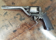 Tranter 2nd Pattern Double Trigger Revolver .54  Muzzleloader