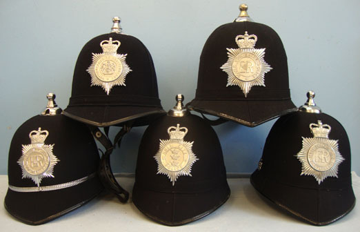British Police Constable & Sergeant\'s Uniform Helmet with Plate. (price per hel British Police Constable & Sergeant's Uniform Helmet with Plate. (price per helm Accessories