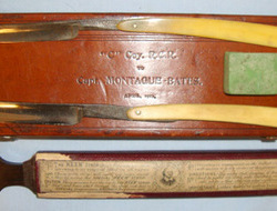 Cased British Officer's Field Equipment Personal Grooming 'Cut Throat' Razor Set Cased British Officer's Field Equipment Personal Grooming 'Cut Throat' Razor Set