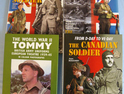 Collection Of Four Large hardback Books On The British & Canadian Soldier & Unif Collection Of Four Large hardback Books On The British & Canadian Soldier & Unif