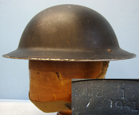 Tommy Combat Helmet x B.M.B. (British Motor Bodies) With Rare Canadian 1942 Camo British Tommy Combat Helmet x B.M.B. (British Motor Bodies) With Rare Canadian 1 Accessories