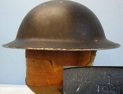 Tommy Combat Helmet x B. M. B. (British Motor Bodies) With Rare C...