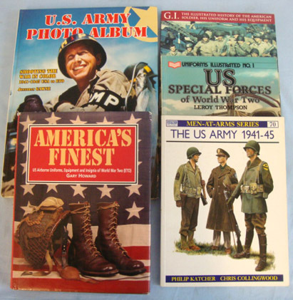 U.S. Army Books. Collection Of Five U.S. Army Books. Accessories