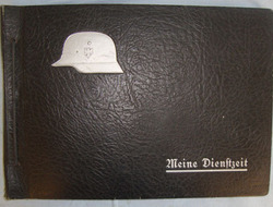 German Panzer Grenadier's 'Meine Dienstzett' (My War) Photograph Album With Orig German Panzer Grenadier's 'Meine Dienstzett' (My War) Photograph Album With Orig