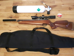 Falcon Airguns FN12 Full Kit + Charging Bottle! . 177 Air Rifles